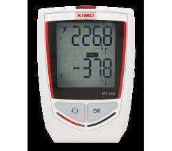 Datalogger - záznamník KIMO KTT320 - vstup pro termočlánky