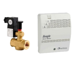 Domovní detektor plynu CH4 - BEAGLE Plus M - sada s ventilem
