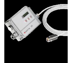 Pyrometr Optris CT G5 - měření teploty skla