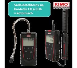 [Sada pro detekci úniku plynu v kotelně KIMO FG110 a CO110]
