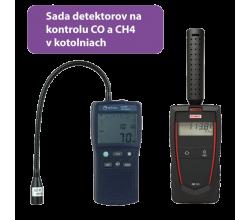 Sada pro detekci úniku plynu v kotelně Seitron Gas Sniffer B10 a KIMO CO50
