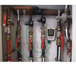 Teploměr se záznamem KIMO KTT220 - sada pro servis vytápění