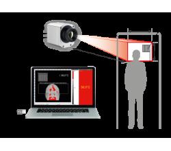 Termovizní kamera pro měření tělesné teploty hlavy - OPTRIS PI450i s blackbody